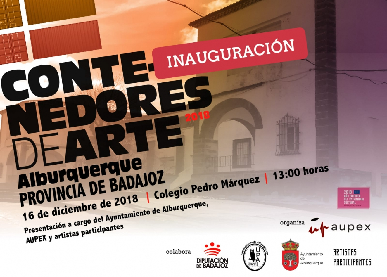 SAMBRONA EN LOS CONTENEDORES DE ARTE | Alburquerque