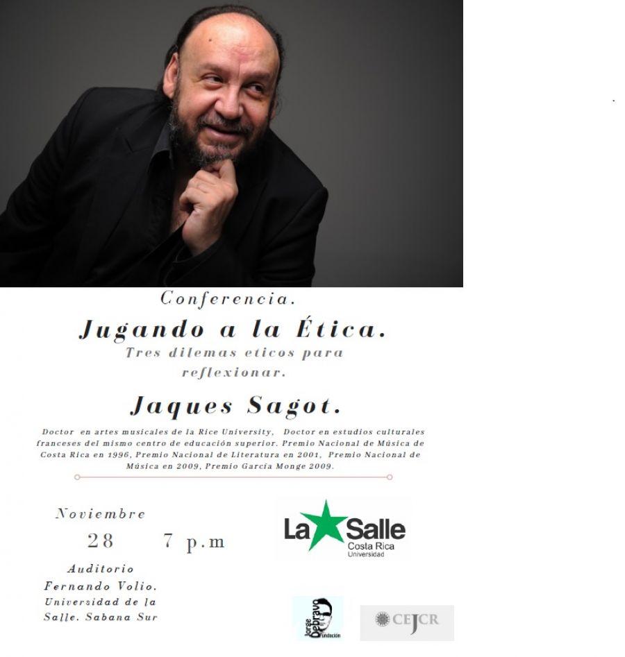 Jugando a la ética. Jacques Sagot. Filosofía