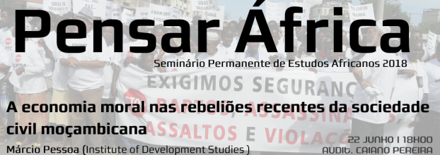 Pensar África: A economia moral nas rebeliões em Moçambique