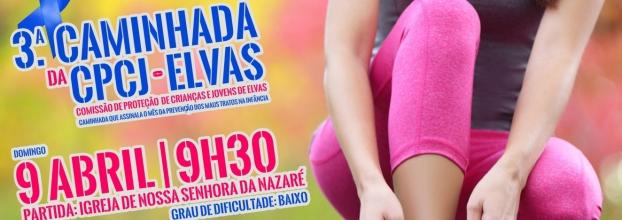 Caminhada solidária em Elvas