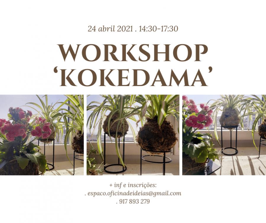 WORKSHOP 'kokedama'