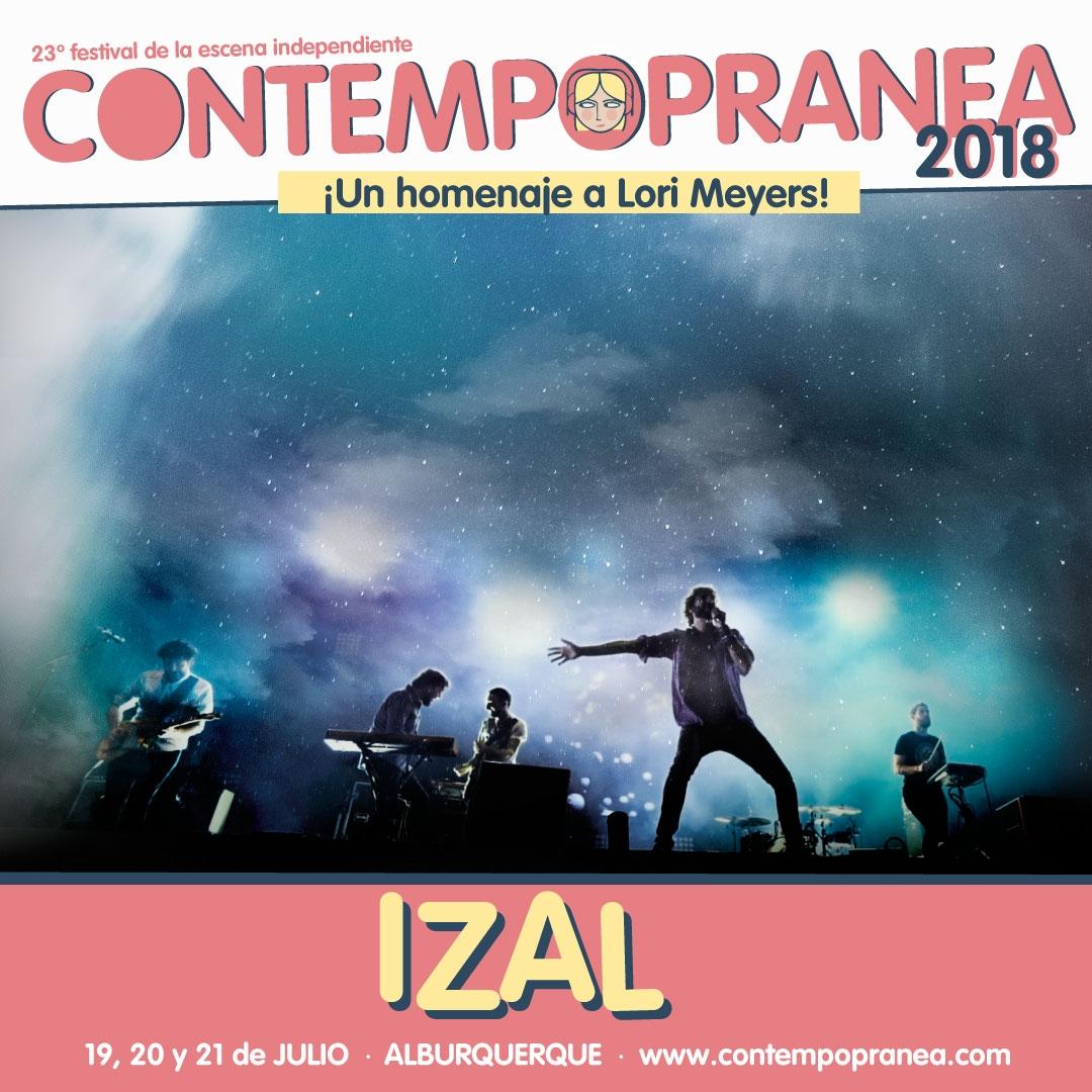 IZAL // Escenario PASEO DE LAS LADERAS