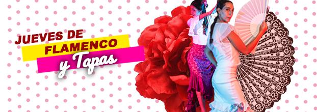 Flamenco. Tapas españolas y baile