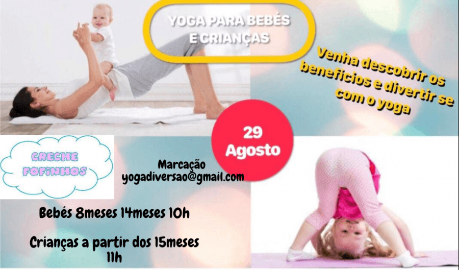 Yoga para bebés e crianças