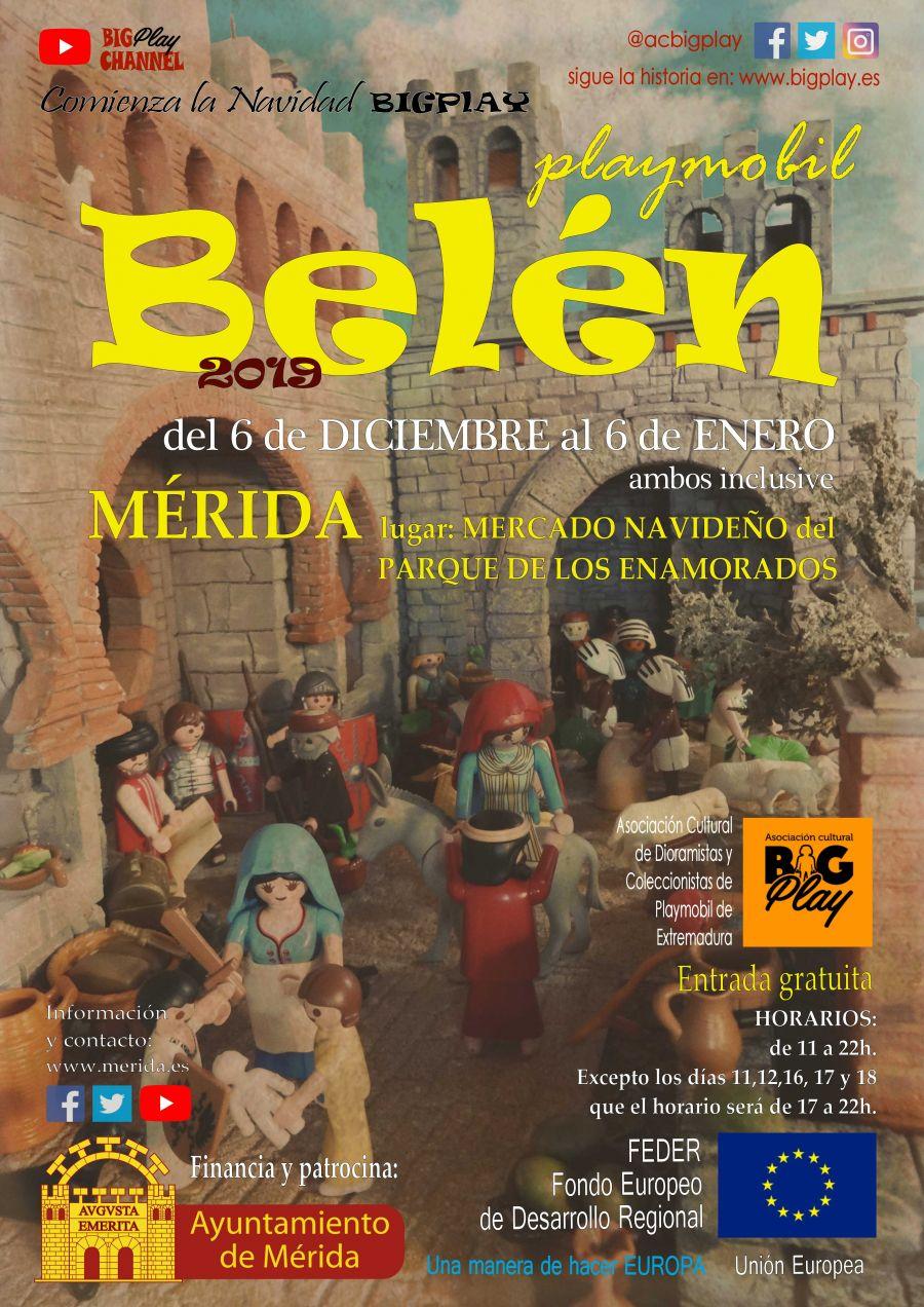 BELÉN Playmobil MÉRIDA, Mercado Cultural Navideño