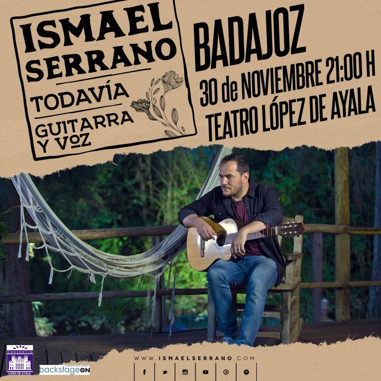 ISMAEL SERRANO    en concierto Badajoz