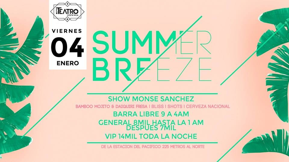 Summer breeze. Monse Sánchez. House y charanga Dj set