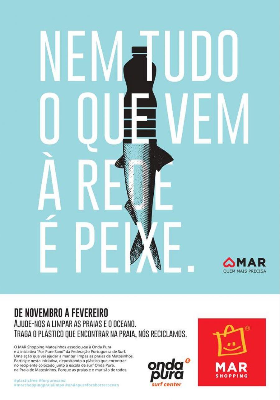 'Nem tudo o que vem a rede é peixe': Campanha de sensibilização em Matosinhos