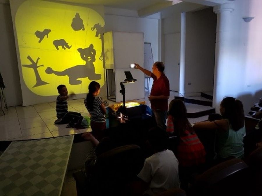 Teatro de sombras. Para niños