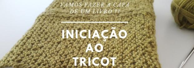 Iniciação ao Tricot - CAPA DE LIVRO _ Kit incluido