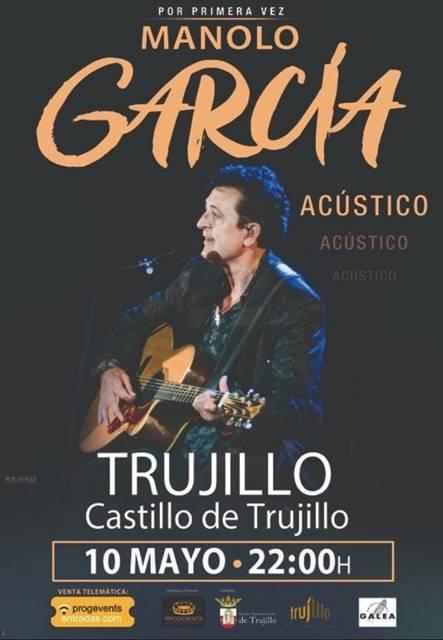 Concierto Acústico de Manolo García en Trujillo