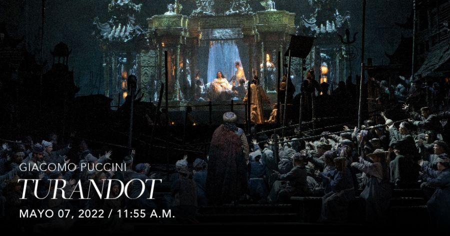 Turandot (Puccini). Met Live in HD