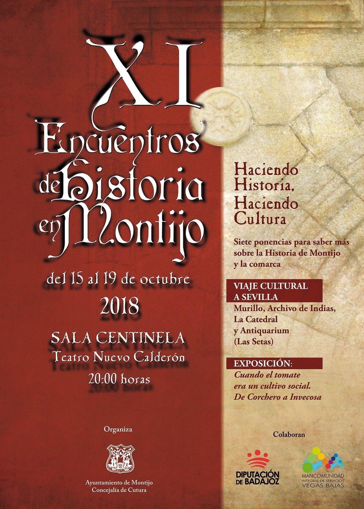 XI Encuentros de Historia de Montijo