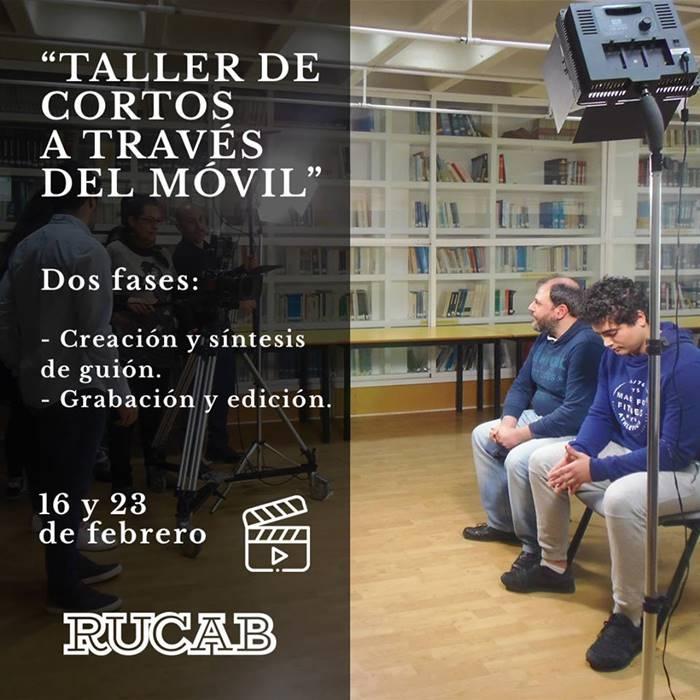 TALLER DE CORTOS A TRAVÉS DEL MÓVIL