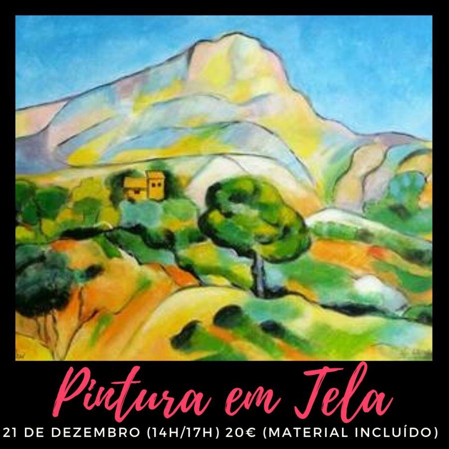 Workshop de Pintura em Tela