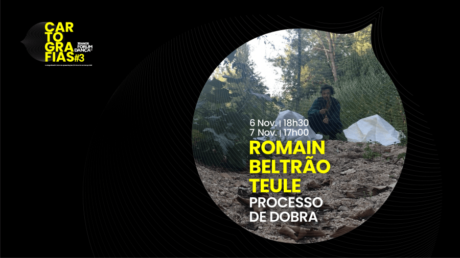 Cartografias #3 | Romain Beltrão Teule, Processo de Dobra