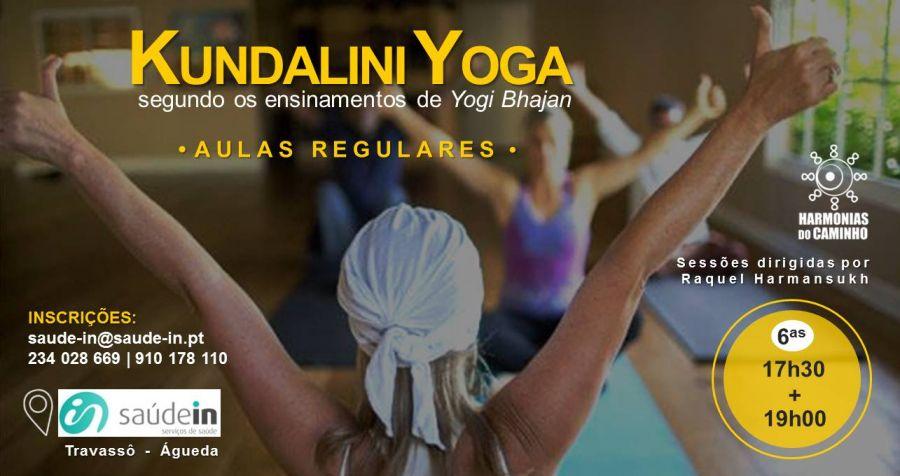 Kundalini Yoga - Aulas regulares - Todas as 6ª feiras às 17h30 e 19h00