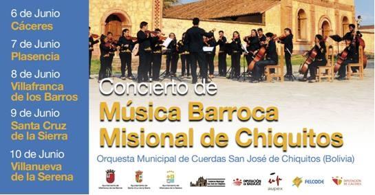 Conciertos de Música Barroca Misional de Chiquitos