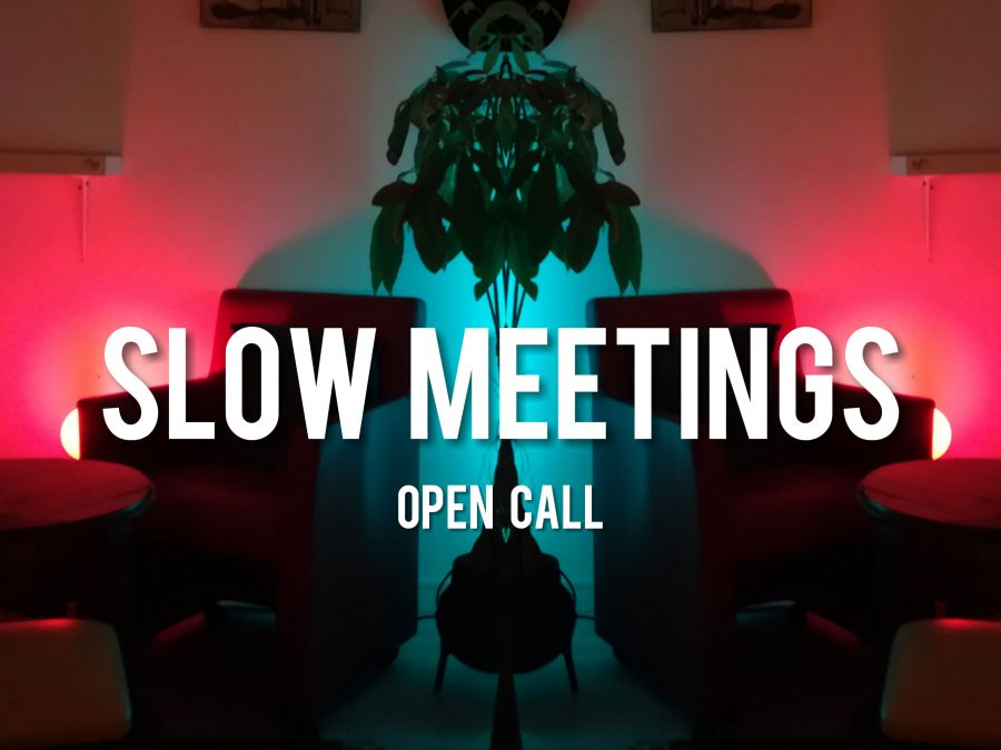 Slow Meetings // Open Call