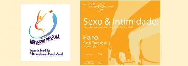 Workshop 'Sexo e Intimidade' com Carmo Gê Pereira