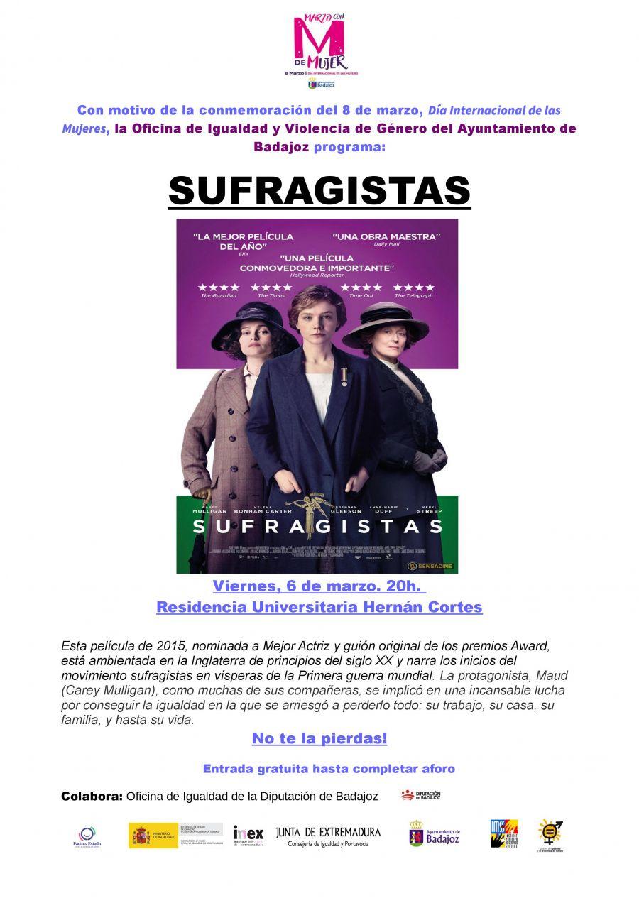 CINE: 'SUFRAGISTAS'