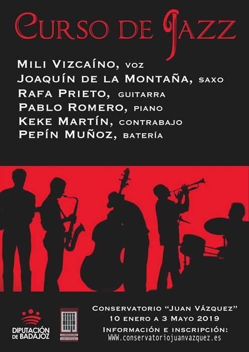 Curso de formación en Jazz, improvisación y creatividad | Conservatorio Juan Vázquez