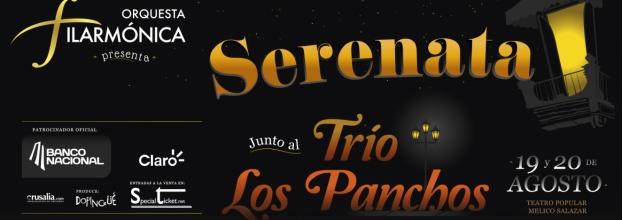 Serenata junto al Trío los Panchos. Orquesta Filarmónica