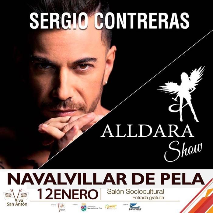 Concierto de Sergio Contreras y de Alldara Show | Navalvillar de Pela | La Encamisá