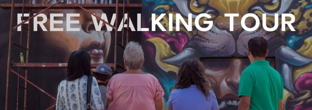 Free walking tour. Safari de arte urbano