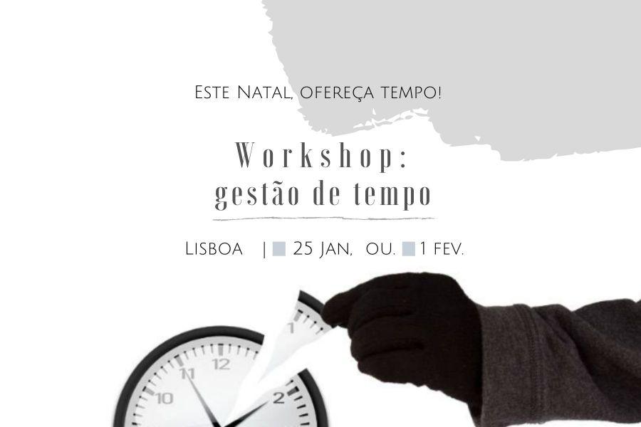 Workshop: Gestão de Tempo