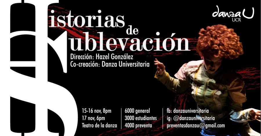 Historias de sublevación. Hazel González & Danza UCR