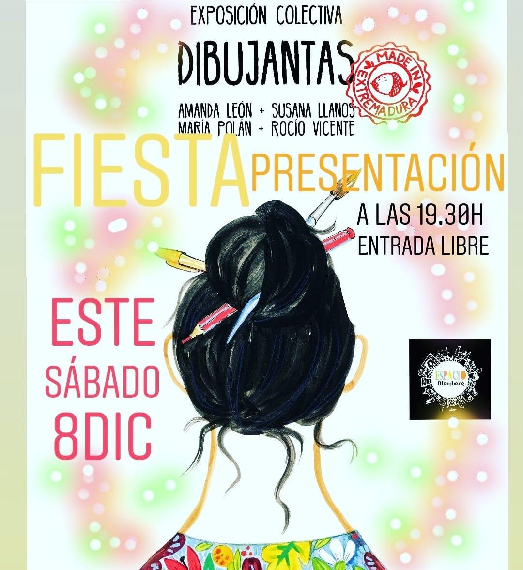 Exposición colectiva Dibujantas