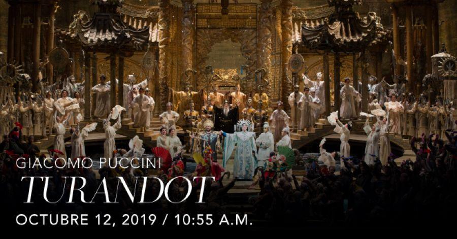 Turandot, Giacomo Puccini. Opera. Transmisión en vivo