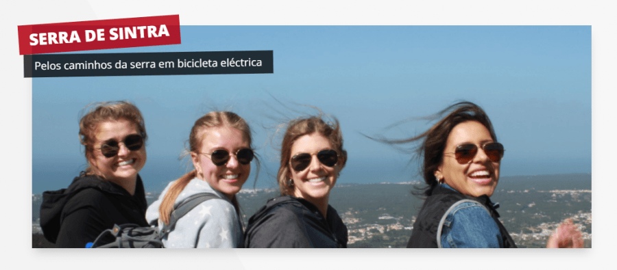 Visita Guiada - Serra de Sintra (Bicicleta Elétrica)