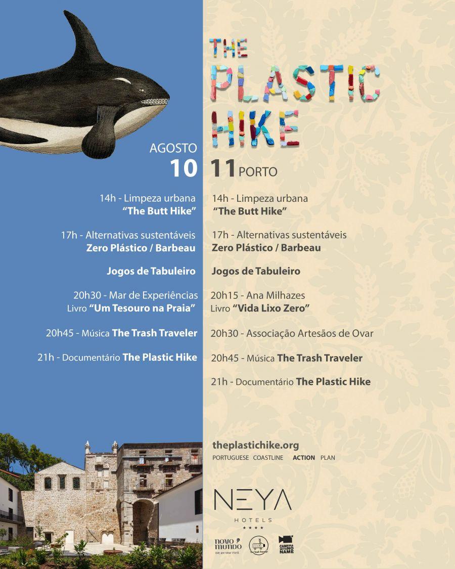 Evento The Plastic Hike no NEYA Porto