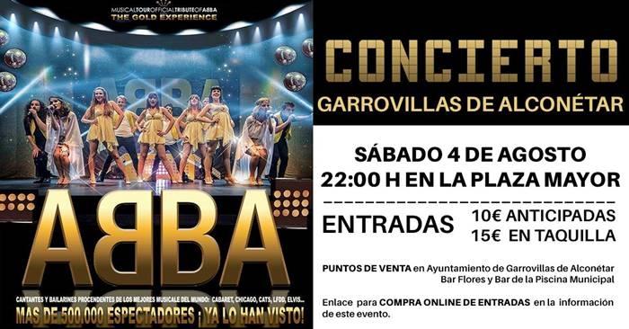 Musical Tributo ABBA || Garrovillas de Alconétar