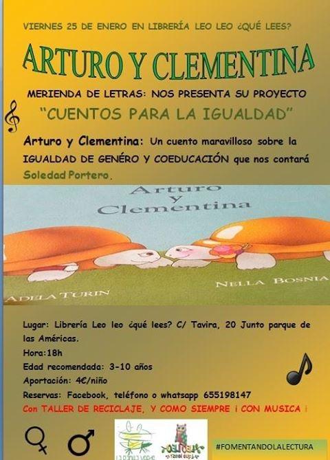 Cuentacuentos Arturo y Clementina // Cuentos para la igualdad