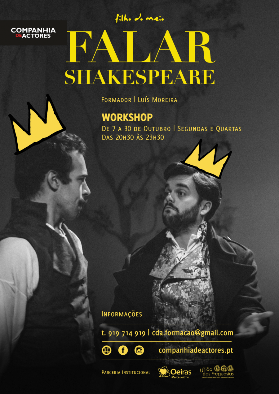 Falar Shakespeare - Workshop de Teatro