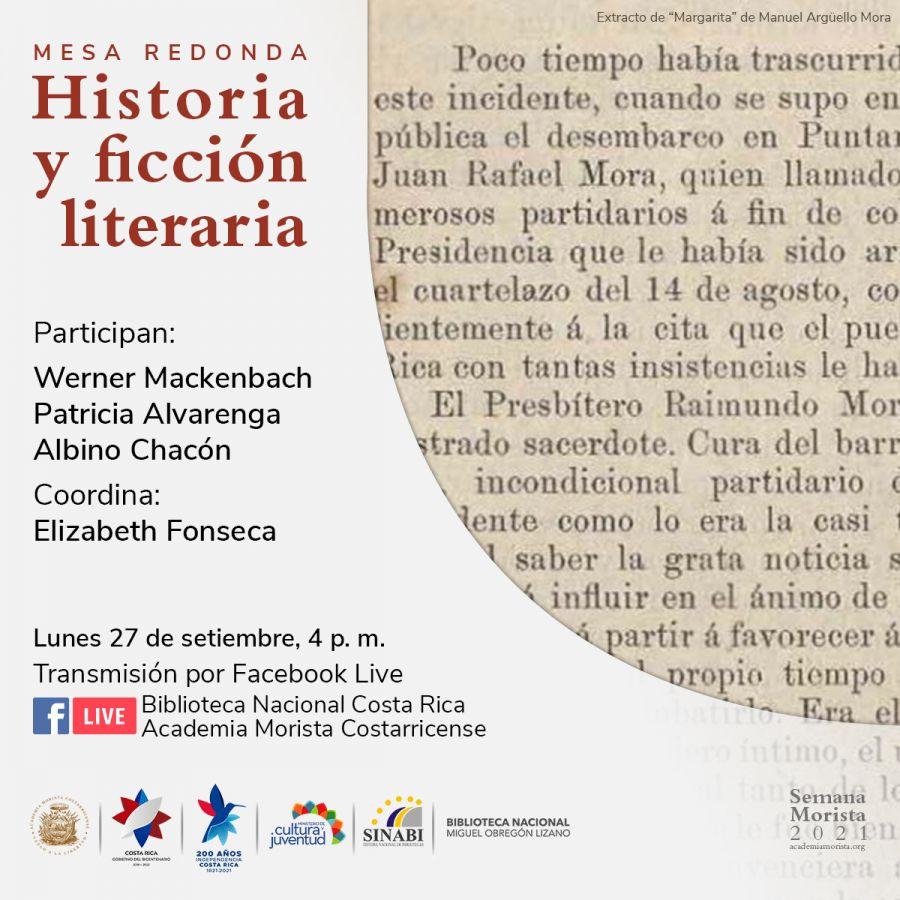 Mesa redonda. Historia y ficción literaria. Semana Morista 2021