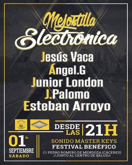 Festival Mejostilla Electrónica - Cáceres