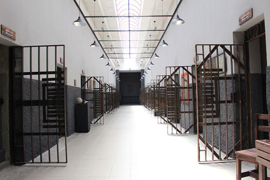 Antigua Penitenciaría Central. Celdas restauradas.