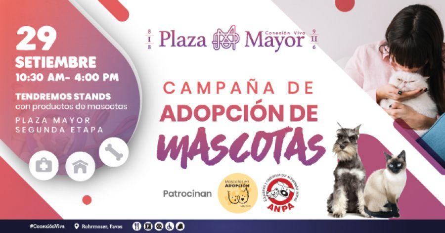 Feria de mascotas y campaña de adopciones. ANPA & Mascotas en Adopción CR