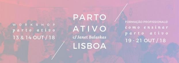 Workshop Parto Ativo com Janet Balaskas