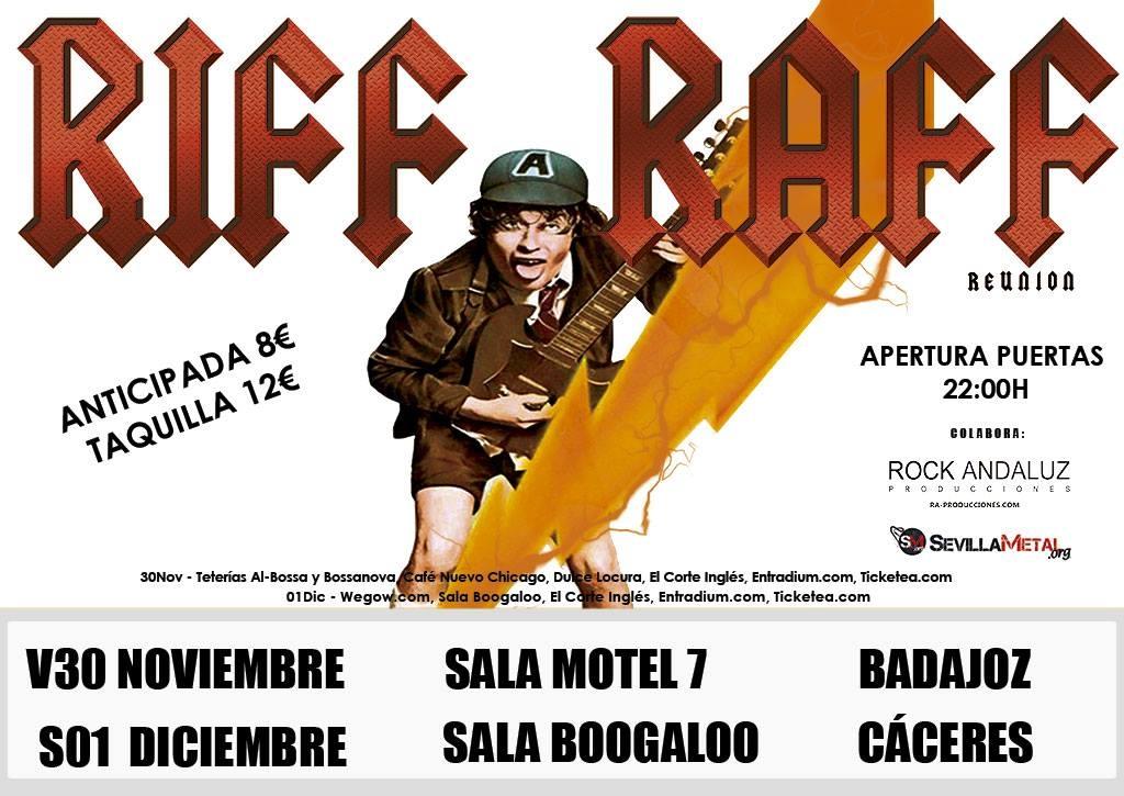 Riff Raff Reunion || Versiones AC/DC