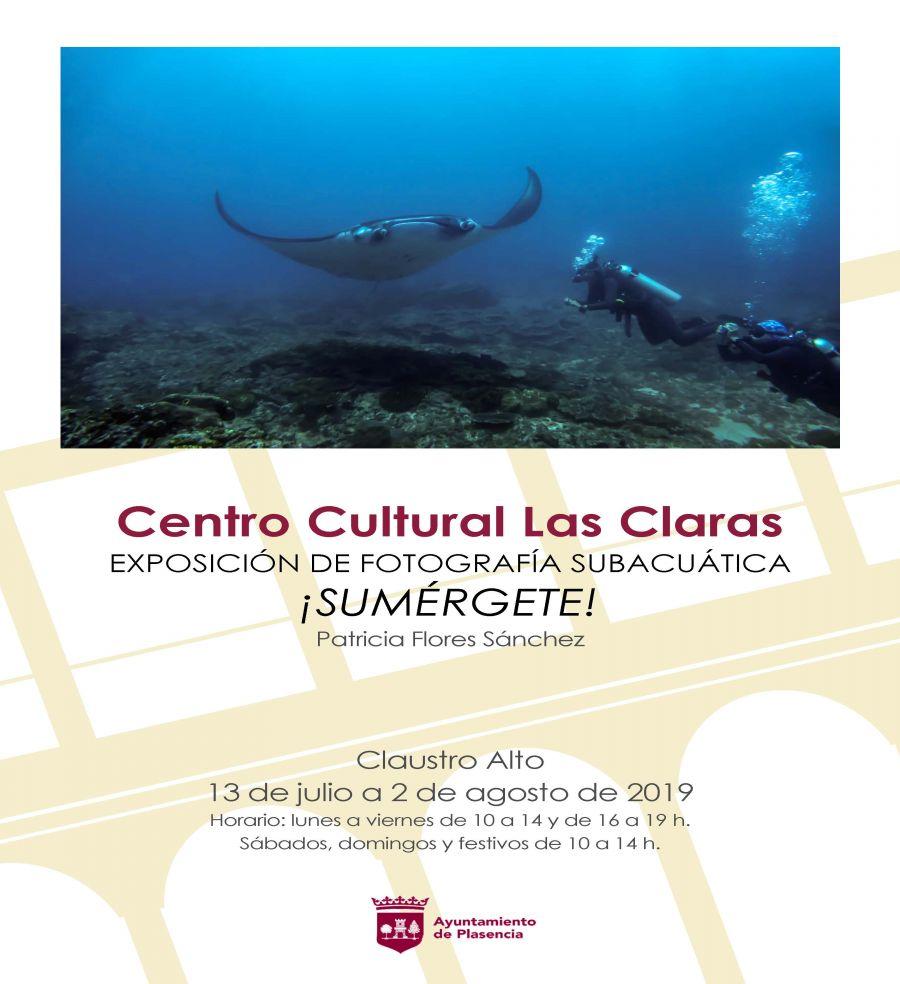 Exposición de fotografía subacuática: ¡Sumérgete'