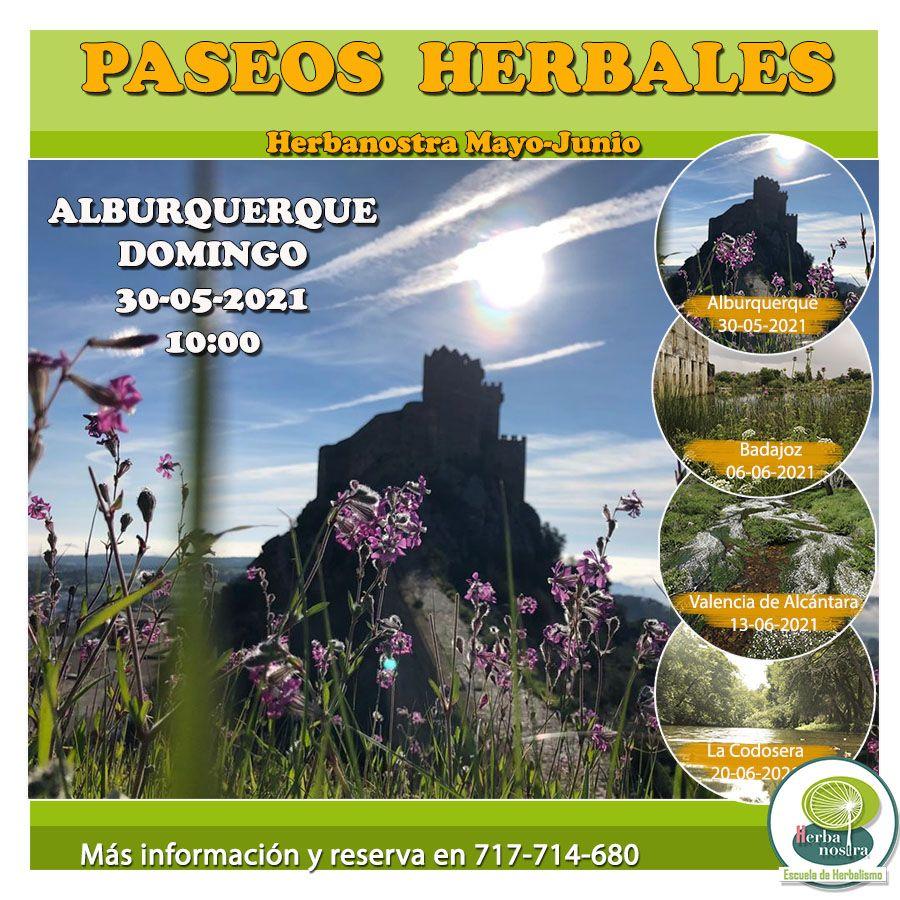 Paseo herbal por Alburquerque