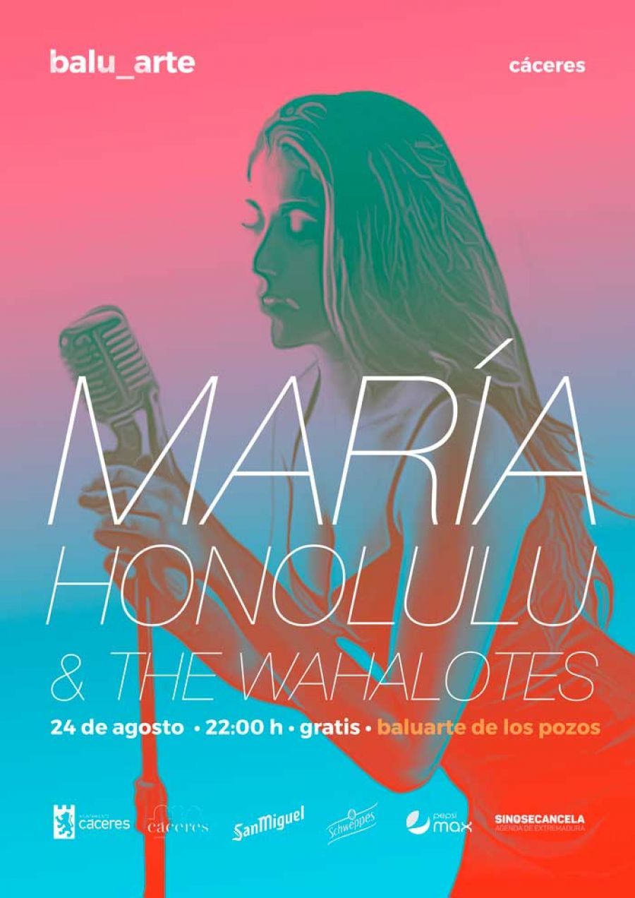 MARÍA HONOLULU & THE WAHALOTES + DJ | balu_arte 2019