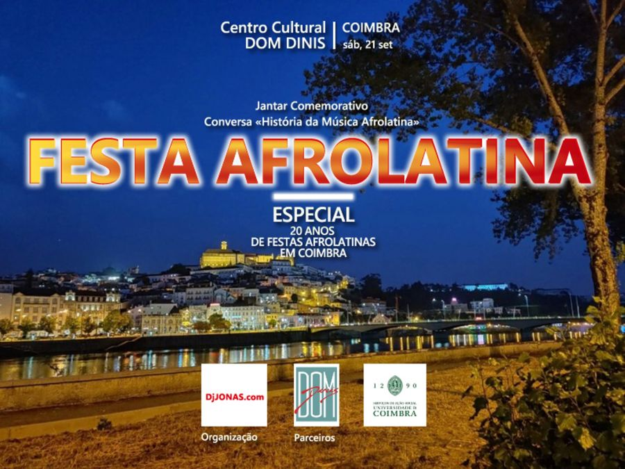FESTA AFROLATINA - Especial 20 ANOS