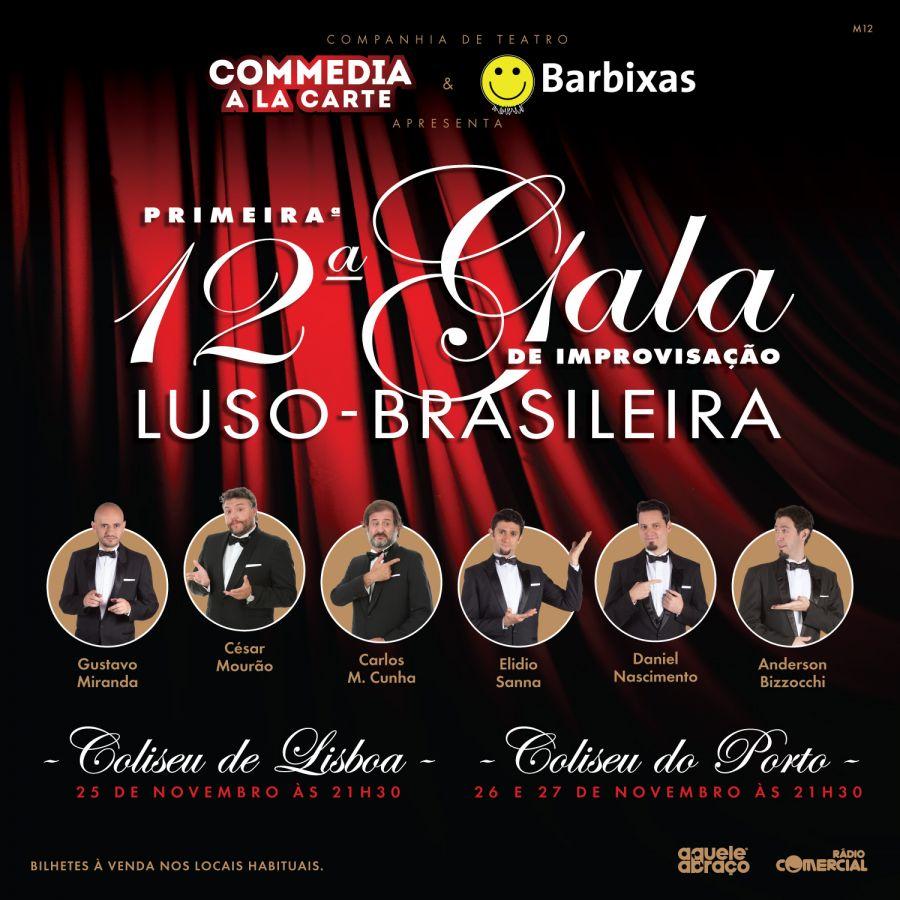 Primeira 12ª Gala de Improvisação Luso-Brasileira