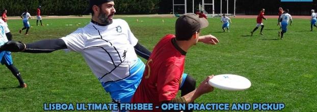 Ultimate Frisbee Practice